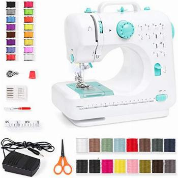 Best Choice Products Compact Sewing Machine, 42-Piece