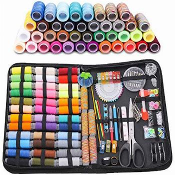 Large Sewing Kit,206 Pcs Sewing Set, Sewing Supplies with