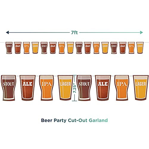 Beer Tasting Notes Place Mats Set for 24 amp Pint Glass